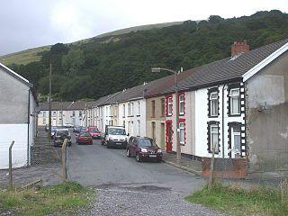 Wattstown village in Wales