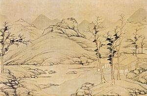 Lu Zhi (painter) - Lu Zhi, River Landscape in Spring , National Palace Museum, 1535