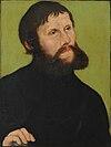 Lucas Cranach the Elder  - Portrait of Luther as Junker Jörg (Leipzig) .jpg