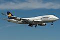 Lufthansa, Boeing 747-400, D-ABVR (14188921779).jpg