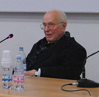 Luigi Luca Cavalli-Sforza - Image: Luigi Luca Cavalli Sforza Capo di Ponte (Foto Luca Giarelli)