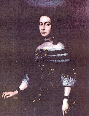 Francesco I d'Este, Duke of Modena - Lucrezia Barberini, Francesco's third wife, and mother of Rinaldo