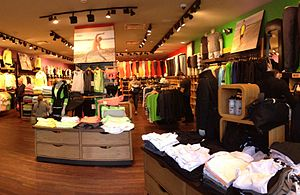 Lululemon Athletica - The Lululemon Athletica store in Westport, Connecticut