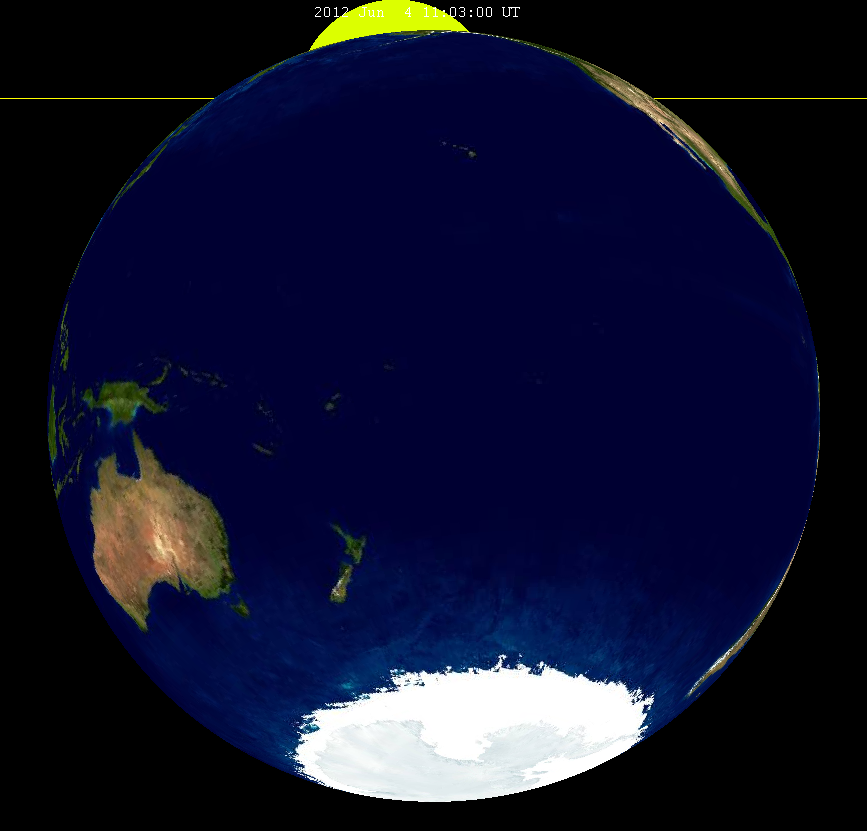 Lunar eclipse from moon-2012Jun04