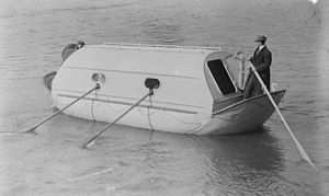 Andreas Petrus Lundin - Lundin lifeboat in 1914
