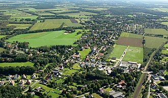 Lunestedt - Aerial view in 2008
