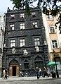 Lwów , Polish , now Lviv , Львов - Rynek 4 - Czarna Kamienica - Black House (1577) - Monument of Polish History - panoramio.jpg