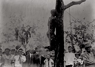Lynching of Jesse Washington African American who was lynched in the U.S.