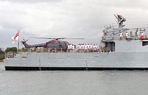 Lynx HAS2 on HMS Amazon (F169) at Pearl Harbor 1986.JPEG