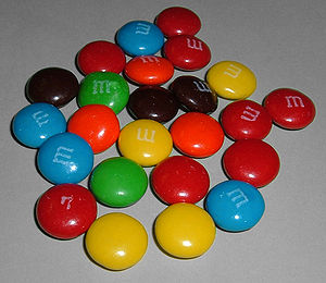 Plain M&M's Purchased in 2005 in USA