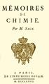 Mémoire de Chimie de Balthasar Georges Sage - Page de garde.png