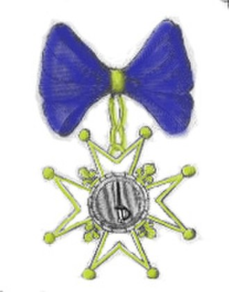 Order of Military Merit (France) - Image: Mérite militaire Louis XV protestants