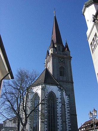 Radolfzell - Cathedral Unserer lieben Frau
