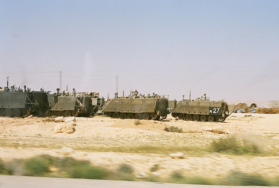 M113 armored personnel carriers, Israeli Defence Forces - 2005