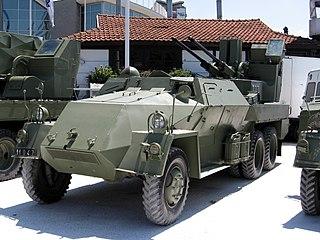 M53/59 Praga Self-propelled anti-aircraft gun