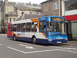 East Lancs Kinetec - Stagecoach 22504, an East Lancs Kinetec, in Perth.