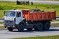 MAZ-5516 dump truck in Minsk 2.jpg