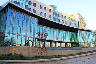MIT Sloan School of Management - MIT Sloan completed its new central building, known as E62, in 2010
