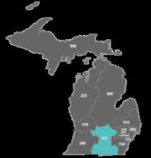 Area code 517 - Wikipedia