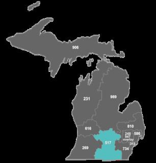 Area code 517