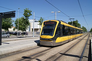 Type of tram manufactured by Bombardier Transportation