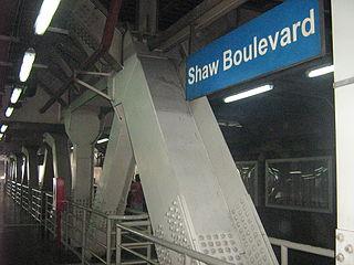 Shaw Boulevard station