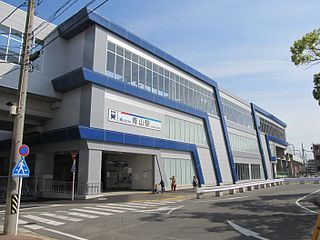 Aoyama Station (Aichi) Railway station in Handa, Aichi Prefecture, Japan