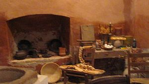 Republic of the Rio Grande Museum - Kitchen of a period hacienda