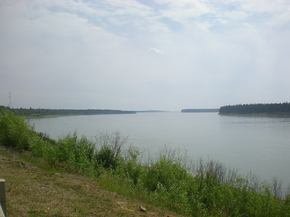 Mackenzie River near Fort Providence