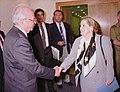 Madeleine Albright and Prime Minister Yitzhak Rabin.jpg