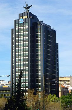 Madrid - Edificio Castellana 33 (Mutua Madrileña) 3.jpg