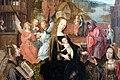 Maestro di delft, trittico della madonna col bambino e santi, 1500 ca. 05.JPG