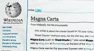 Cornelia Parker - The top-left corner of Magna Carta (An Embroidery)
