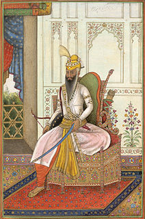 Ranjit Singh founder of Sikh Empire (early 19th century)