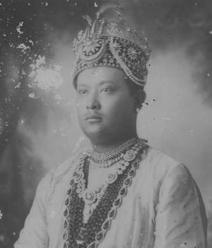 Agartala - His highness Maharaja Bir Bikram Kishore Manikya Bahadur one of the most ambitious kings of Tripura
