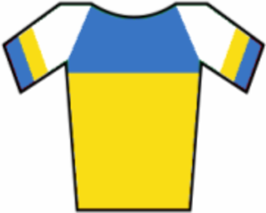 Liquigas - Image: Maillot Ucrania