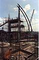 Main Auditorium Under Construction - Convention Centre Complex - Science City - Calcutta 1994-10-22 106.JPG