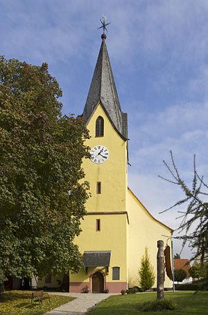 Maintal, Stadtteil Wachenbuchen, evangelische Kirche