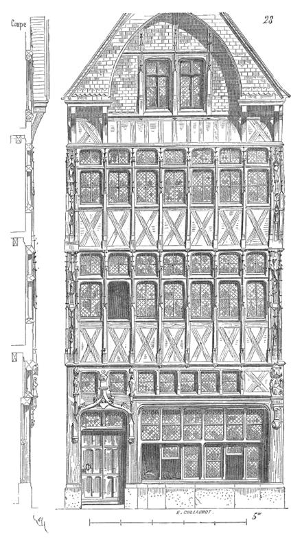 dictionnaire raisonn 233 de l architecture fran 231 aise du xie au xvie si 232 cle maison wikisource