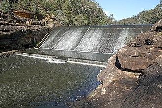 Maldon, New South Wales - Image: Maldon Weir NSW