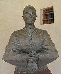 Malmantile, eremo di Lecceto - Busto del cardinale Elia Dalla Costa.jpg