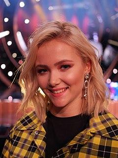 Malou Prytz Swedish singer (born 2003)