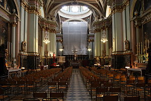 St Francis of Assisi Church (Valletta) - Interior of the church