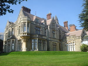 Malvern Hills District - Council House (built 1874), situated in Priory Park, Great Malvern