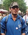 Manifestante al BiellaPride 2008 - Foto Giovanni Dall'Orto, 14-June-2008 2.jpg