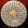 Manises, piatto con trigramma di cristo, 1430-70 ca..JPG
