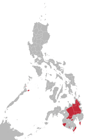 Manobo languages map.png