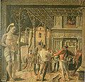Mantegna, martirio di san cristoforo, copia del museo jacquemart-andrè.jpg