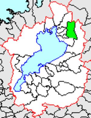 Azai, Shiga - Azai in Shiga