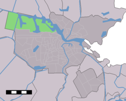 The location of Westpoort in Amsterdam